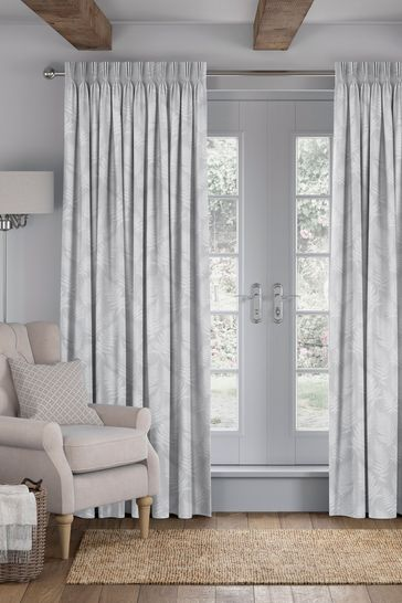 Clarissa Silver Made To Measure Curtains