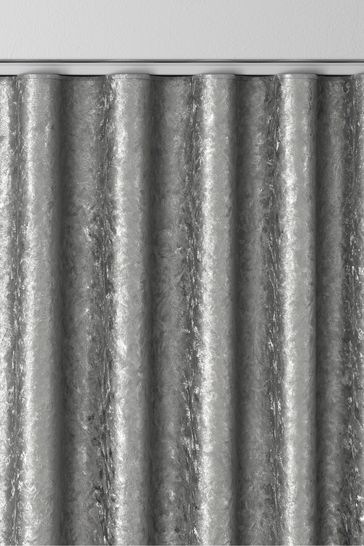 Crushed Grey Made To Measure Curtains