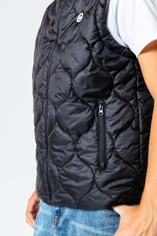 Hype. Kids Black Gilet