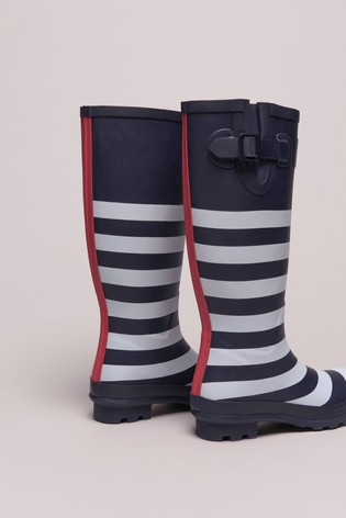 Crew Clothing Blue Crew Long Wellies