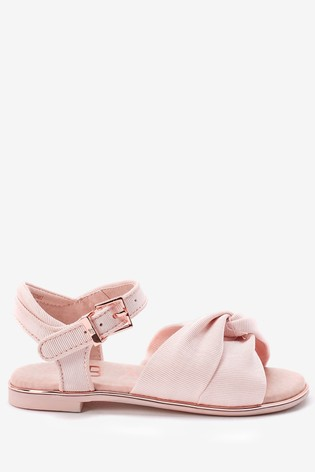 Baker by Ted Baker Pink Knot Sandals