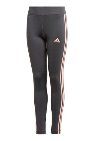 adidas Performance 3 Stripe Training Leggings