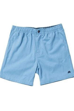 Raging Bull Blue Stretch Chino Shorts