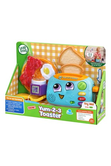 LeapFrog Yum-2-3 Toaster Toy