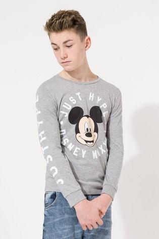 Hype. Disney™ Mickey Circle Kids L/S T-Shirt