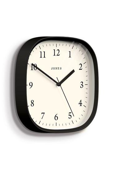 Jones Clocks Marvel Black Wall Clock