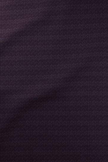 Blueberry Purple Chevvie Made To Measure Roller Blind