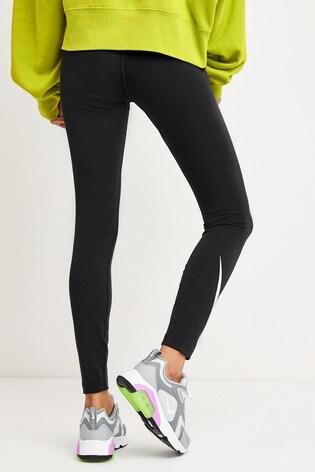 Nike Sportswear Black Double Swoosh Leggings