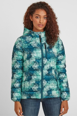 Tog 24 Womens White Drax Down Fill Hooded Jacket