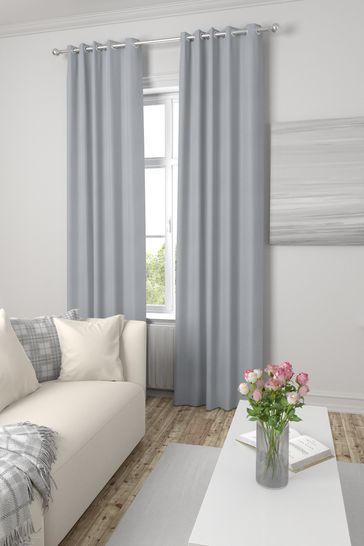 Eloise Silver Made To Measure Curtains