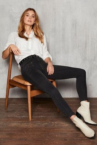 Mint Velvet Biker Jeans