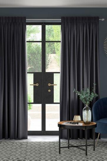 Onyx Black Jasper Made To Measure Curtains