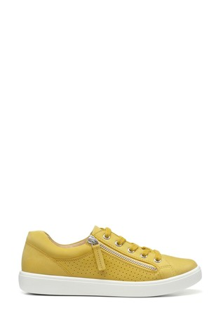 Hotter Chase Lace-Up/Zip Deck Shoes