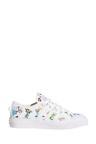 adidas Originals White Disney™ Nizza Youth Trainers