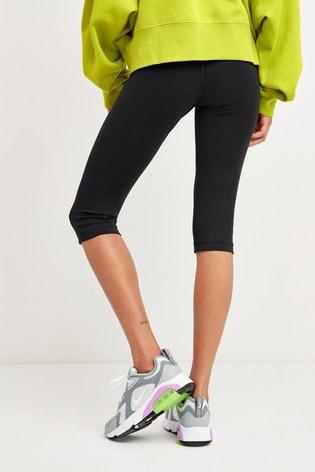 Nike Sportswear Black Leg-A-See Knee Length Leggings