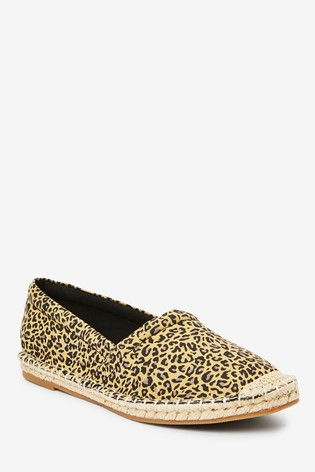 Animal Slip-On Espadrille Shoes