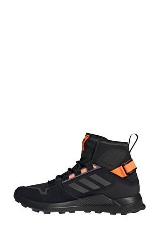 adidas Terrex Black Hikester Mid Boots