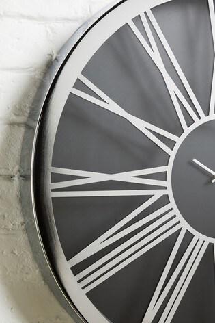 XL Roman Numeral Wall Clock