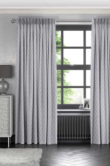 Dove Grey Helio Made To Measure Curtains