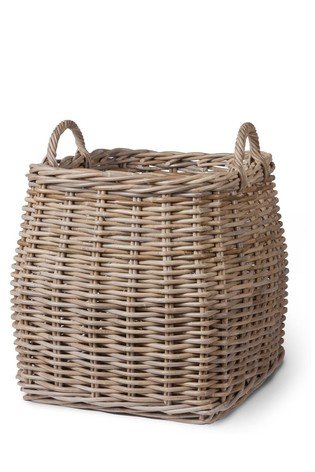 Tapered Rattan Basket by Garden Trading