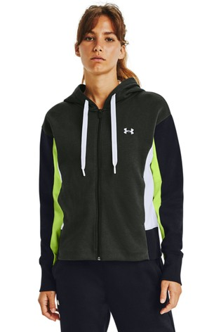 Under Armour Rival Full Zip Embroidery Hoody