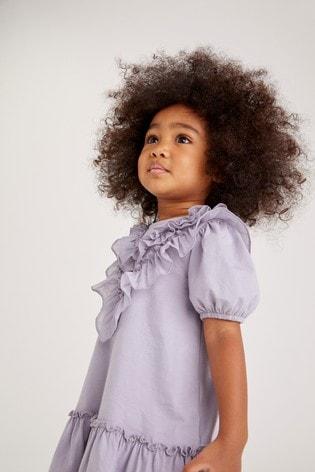Lilac Ruffle Dress (3mths-7yrs)