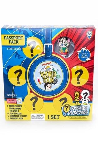 Ryans World World Tour Micro Figure Passport Pack