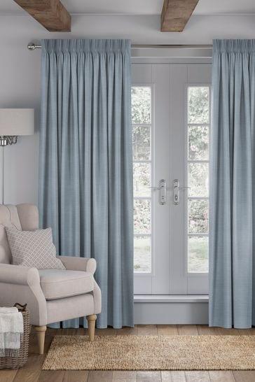 Jasper Powder Blue Made To Measure Curtains