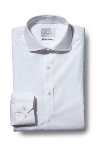 Moss London Premium Extra Slim Fit Zero Iron Shirt