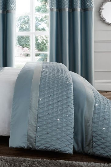 Sequin Cluster Bedspread by Catherine Lansfield