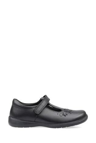 Start-Rite Black Star Jump Shoes