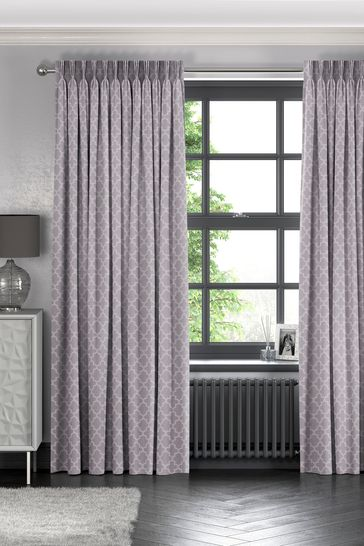 Helio Heather Purple Made To Measure Curtains