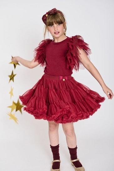 Angel's Face Red Pixie Tutu Skirt