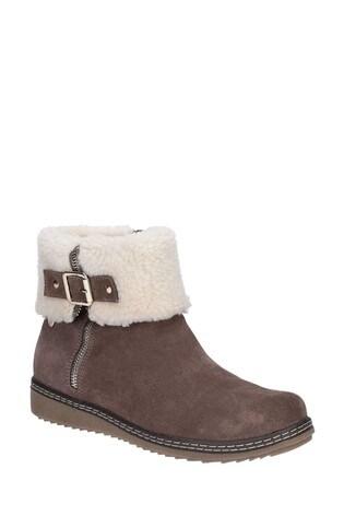 Hush Puppies Grey Maltese Collar Boots