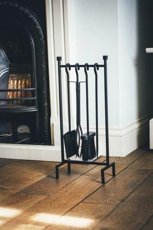 Black Hanging Companion Fireside Set by Ivyline