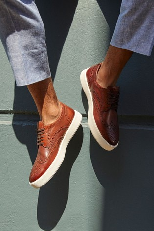Vacío No complicado convergencia  Buy Clarks British Tan Lea Hero Limit Shoes from the Next UK online shop
