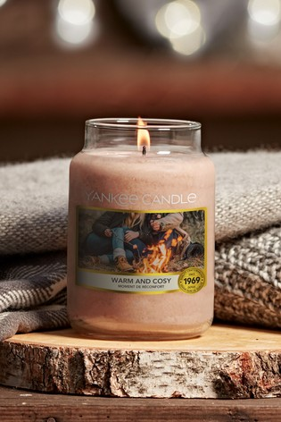 Yankee Candle Classic Large Jar Warm Cosy Candle