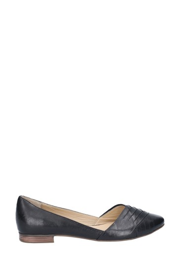Hush Puppies Black Marley Ballerina Slip-On Shoes