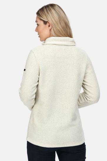 Regatta Cream Solenne Half Zip Fleece