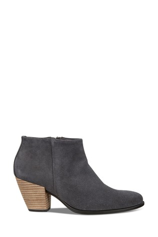 ECCO® Shape 55 Western Heeled Ankle Boots