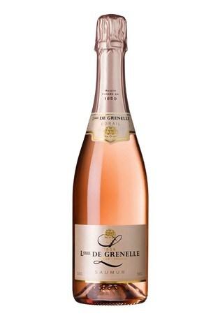 Le Bon Vin Louis De Grenelle Sparkling Saumur Rosé