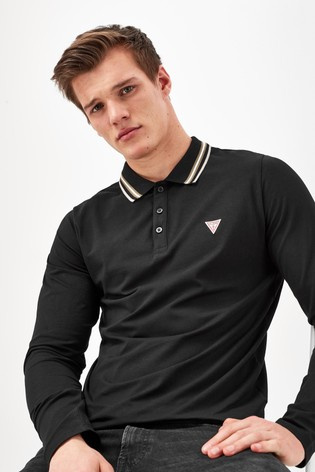 Guess Oliver Long Sleeved Polo