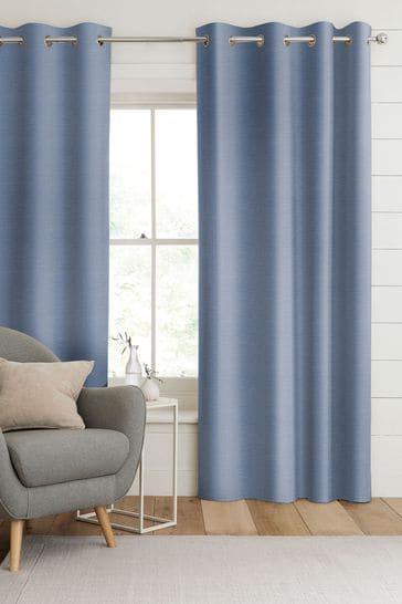 Sky Blue Jasper Made To Measure Curtains
