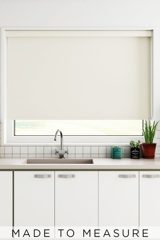 Haig Cream Made To Measure Blackout Roller Blind