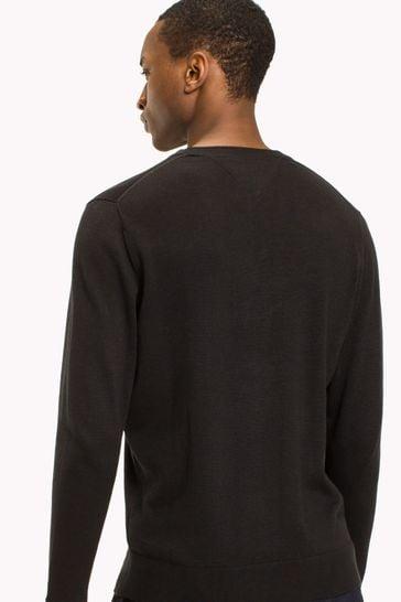 Tommy Hilfiger Core Cotton Silk Crew Neck Sweater