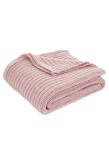 Chunky Knit Throw by Catherine Lansfield