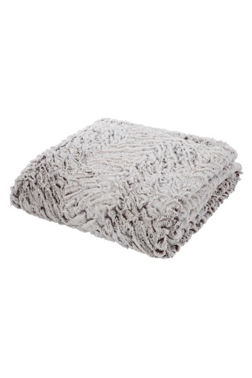 Wolf Faux Fur Throw by Catherine Lansfield