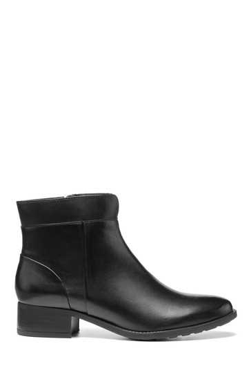 Hotter Hamilton Wide Fit Zip Fastening Ankle Boots