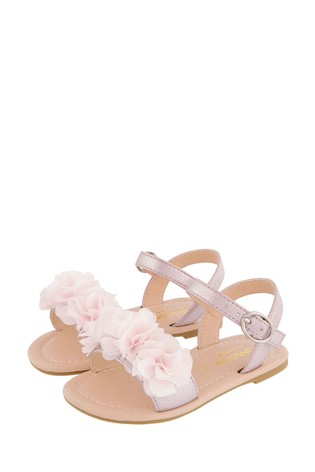 Monsoon Pink Baby Corsage Sandals