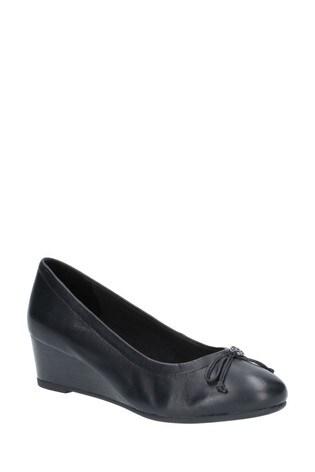 Hush Puppies Black Morkie Charm Slip-On Shoes